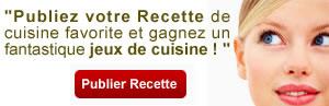 Publier recette de cuisine